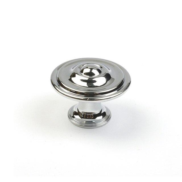 Moderne einfache silber chrom schublade schuhschrank knöpfe zieht ...