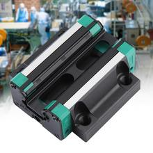 HG30 Bearing Steel Linear Rail Carriage Block Slider Linear Motion Block Flange geleiderail china low price guia linear flange block linear cnc guideway carriage trh15a hgw15ca