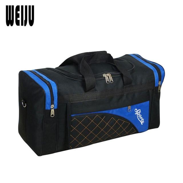 WEIJU New Travel Bag Large Capacity Duffle Bag Casual Luggage Handbag Men Women Travel Bags Weekend Bag YR0272