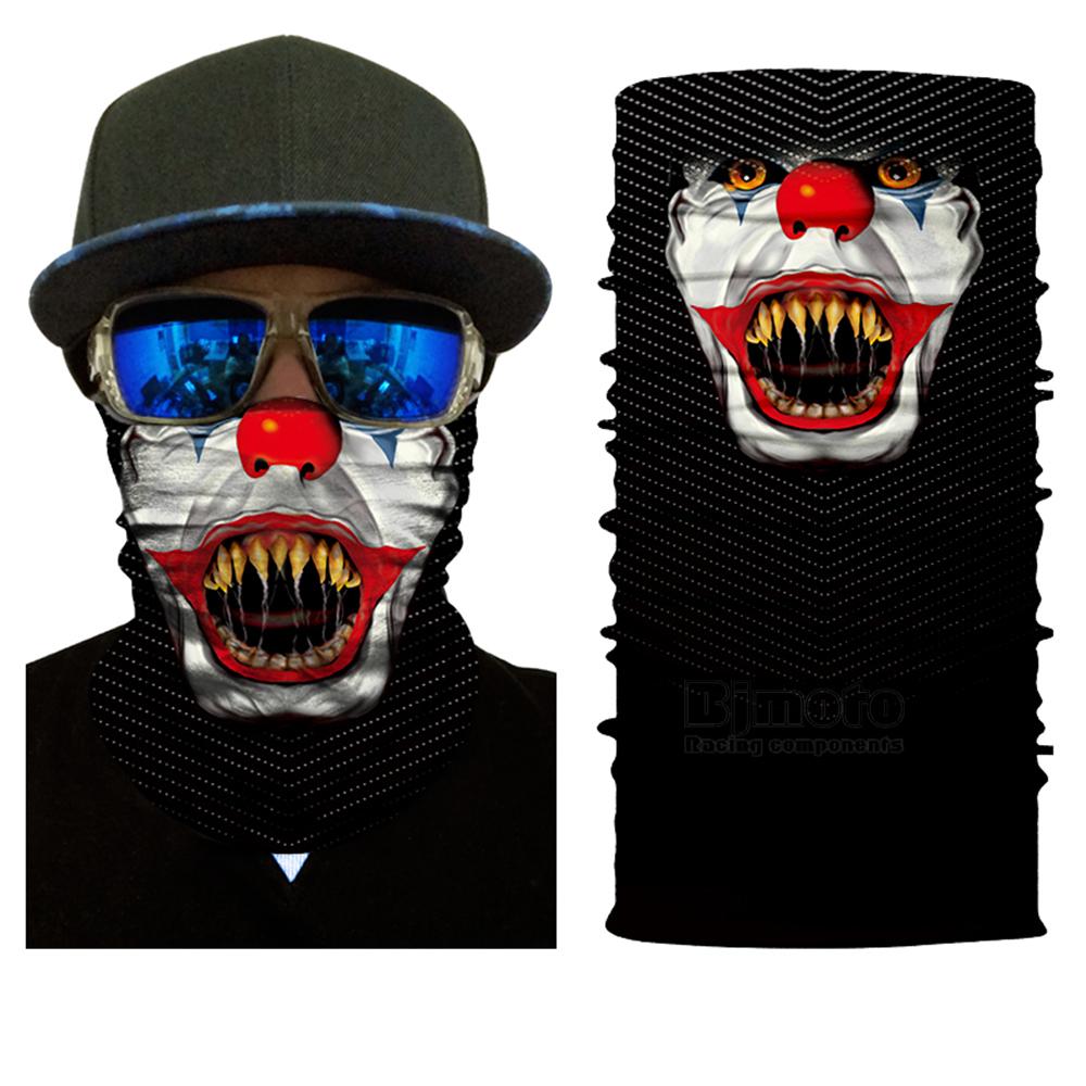 Multifunctional Motorcycle Face Shield Bandana Skull Scarf UPF High Quality Tube Skull Face Mask Shield Seamless Bandanas (9)