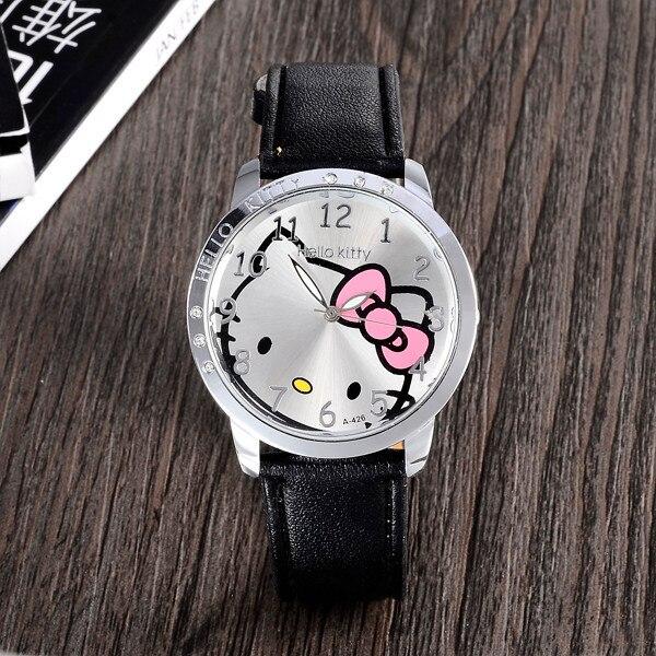 da20afd633 Hot Sale Fashion Hello Kitty Watch Women Kids Girl Hellokitty ...