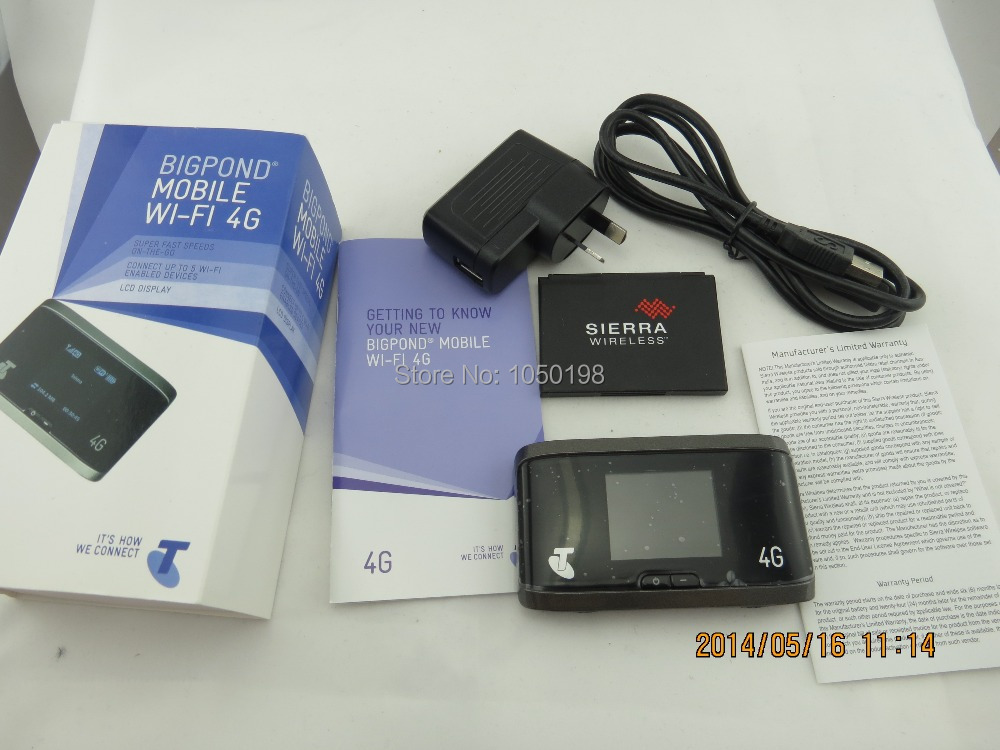 цена на Unlocked AirCard 760S Sierra Wireless Router Mobile Hotspot 4G LTE Telstra Logo
