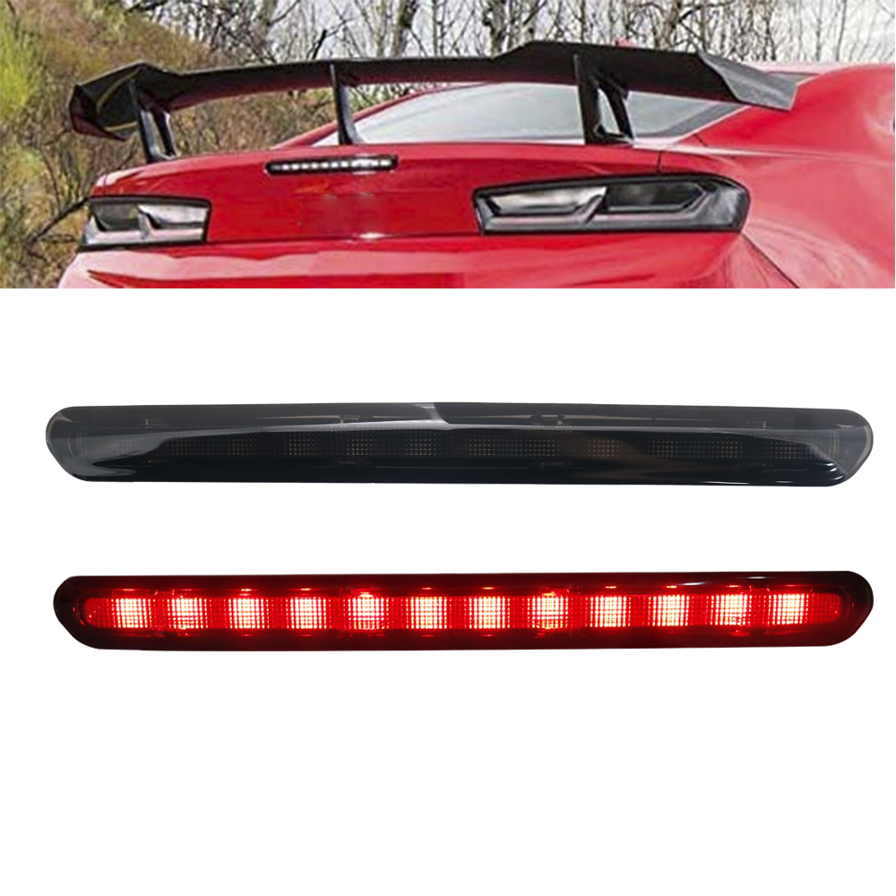 Brand new LED High Mount Stop Lamp Rear Smoked 3rd Brake Light for Camaro 2016+ third brake lamp-in Car Light Assembly from Automobiles & Motorcycles    1