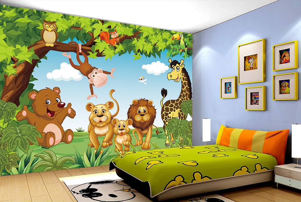 HTB1s3rCQpXXXXcGaXXXq6xXFXXXr - Cartoon Animation child room wall mural for kids room boy/girl bedroom wallpapers 3D mural wallpaper custom any size