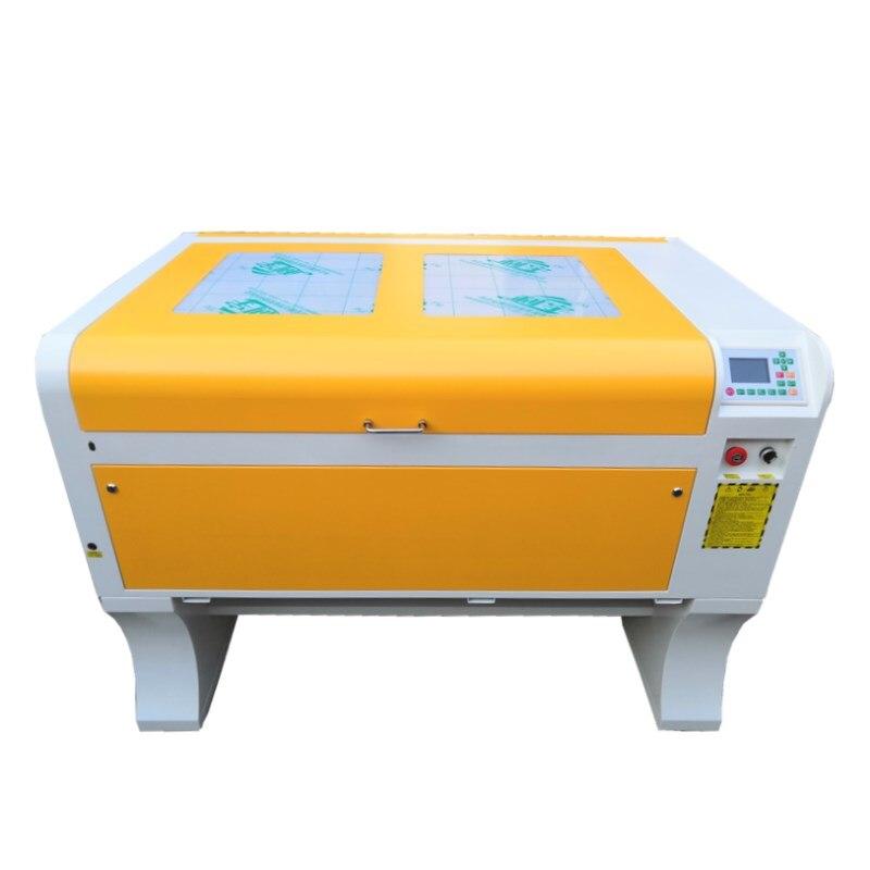 Il trasporto libero 100 W DPS 1060 CO2 incisione laser macchina USB macchina di taglio laser DSP sistema di incisione macchina di raffreddamento