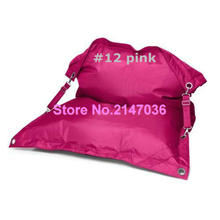 Pink outdoor bean bag chaise longue, living room furniture,large beach hammock,comfort bean bag buggle up chairs