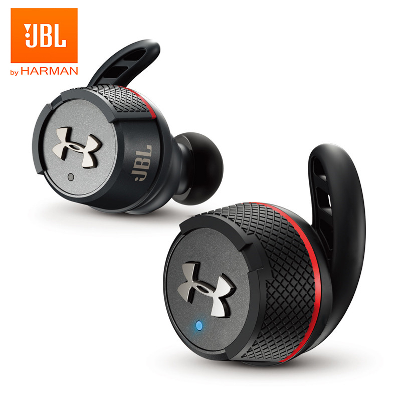Sport wireless earbuds jbl under armour true wireless flash bluetooth sports earphones waterproof running hifi headphones with charge box handsfree call with mic