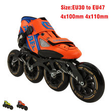 Racing inline speed skate inline roller skate 4x100 4x110mm(China)