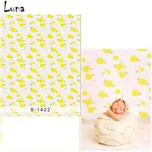 Yellow Small Flower Vinyl Photography Background Backdrop For Children Oxford Background For photo studio Props 1422 цены