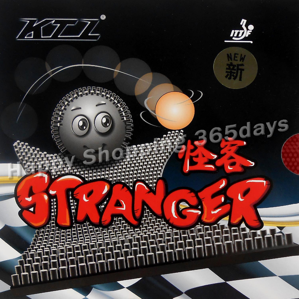 KTL Stranger Long Pips Out Table Tennis Rubber Without And With Sponge Topsheet OX