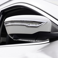 For Nissan Juke 2014 2015 2016 2017 2018 Chrome Side Wing Door Mirror Cover Trim Car Styling Tuning Accessories