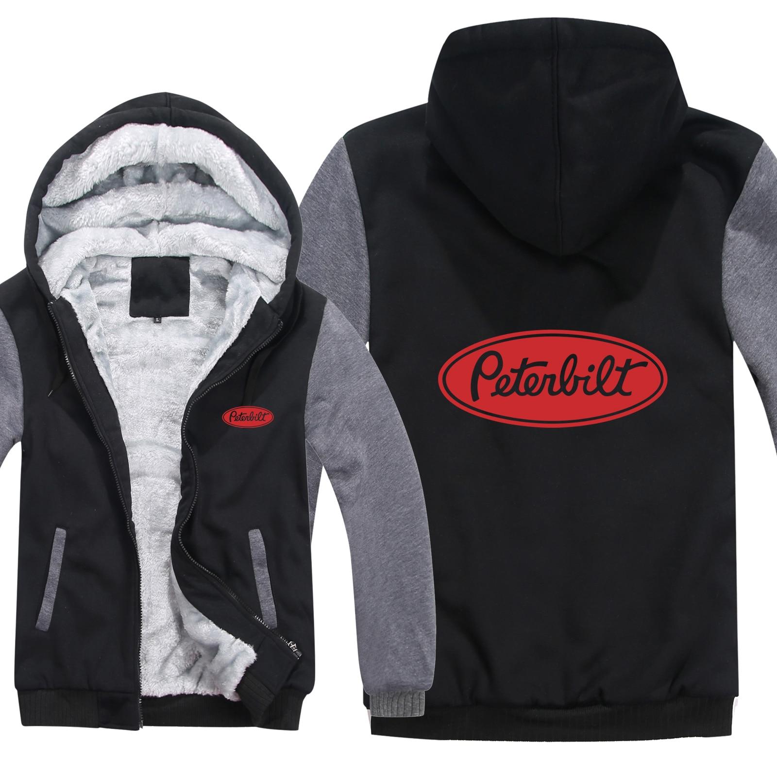 Грузовиков peterbilt, толстовка с капюшоном для мужчин, модный  теплый шерстяной свитер, зимняя куртка Peterbilt, Толстовка для мужчин,  пальто, HS 019Толстовки и кофты