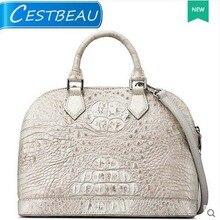 cestbeau thai crocodile leather women handbag shell women bag single shoulder Hand slanted bag new