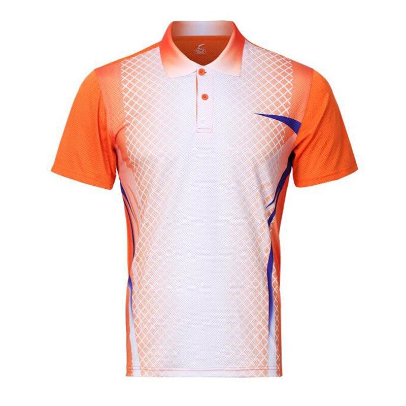 New Women/Men tennis training jerseys table tennis clothes POLO T Shirts Sportswear Quick Dry breathable badminton shirt Jerseys