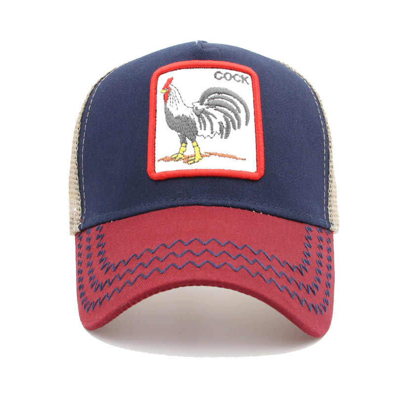 897b638e52ca2 ... Many types embroidery animal Baseball Caps men mesh cap Snapback caps  Unisex sun hat for women ...