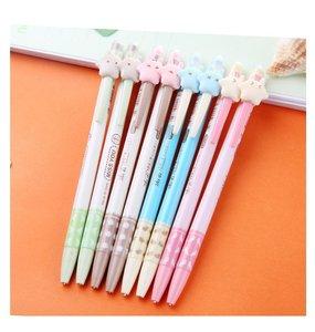 Image 2 - 50 個かわいい自動鉛筆ロットかわいいスターシャープペンシルキッズスクール事務所書き込み用品キャンディーカラー韓国鉛筆