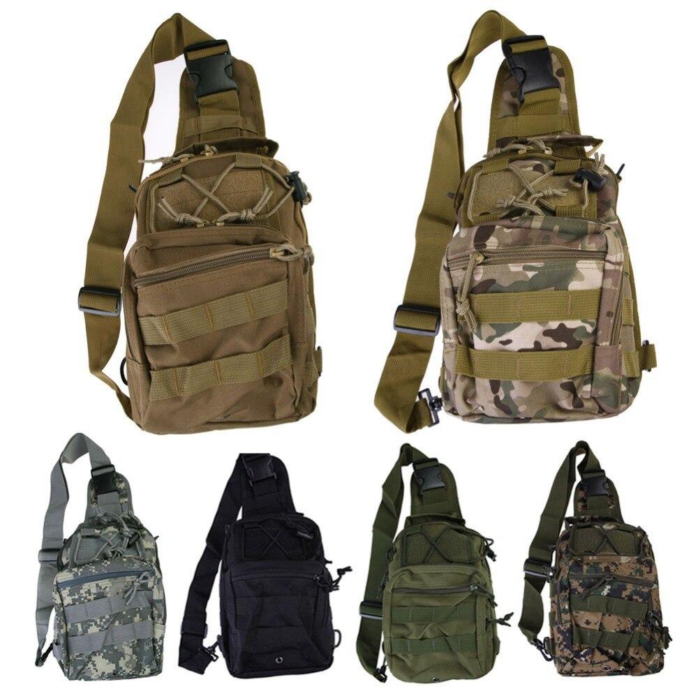 Camping bag Chest Sling Pack Outdoor Sport One Single Shoulder Big Large Ride Travel Backpack Bag