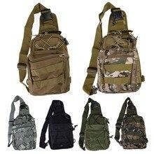 Camping bag Chest Sling Pack Outdoor Sport One Single Shoulder Big Large Ride Travel Backpack Bag Advanced Tactical