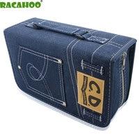 RACAHOO CD Case Nieuwe DVD/CD Pakket Grote Capaciteit 128 mouw Disc Collectie Tas Hoge Kwaliteit Case Voor Auto En Thuis opslag