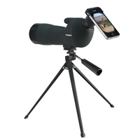 Spotting scope Waterproof telescope Angled 20-60x60 Zoom Spotting Scopes with table tripod green color fast shipping