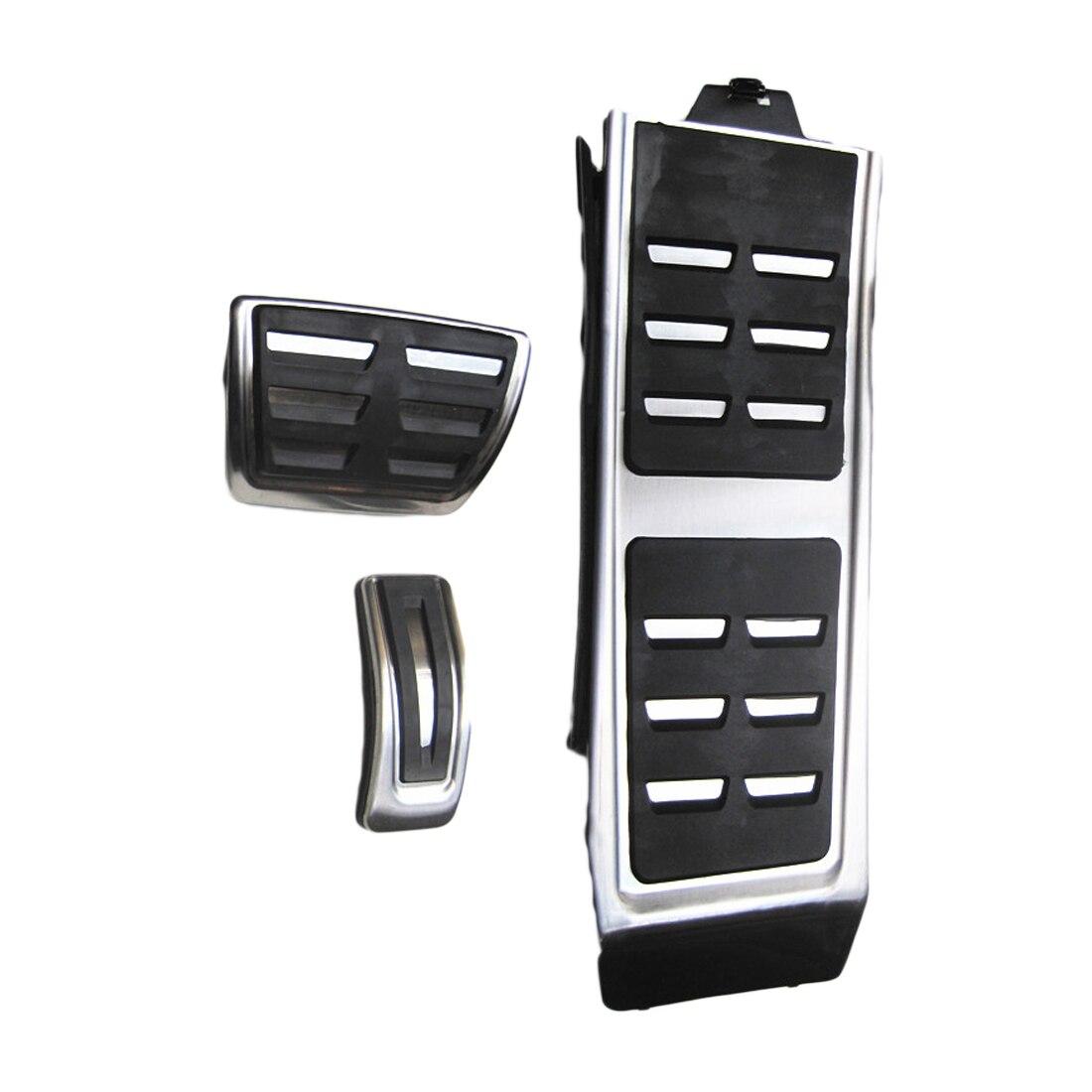 Dewtreetali Sport pédales adaptées pour Audi A4 B8 A6 A7 A8 S4 RS4, A5 S5 RS5 8 T Q5 SQ5 carburant frein repose-pieds couvercle de pédale accessoires Auto