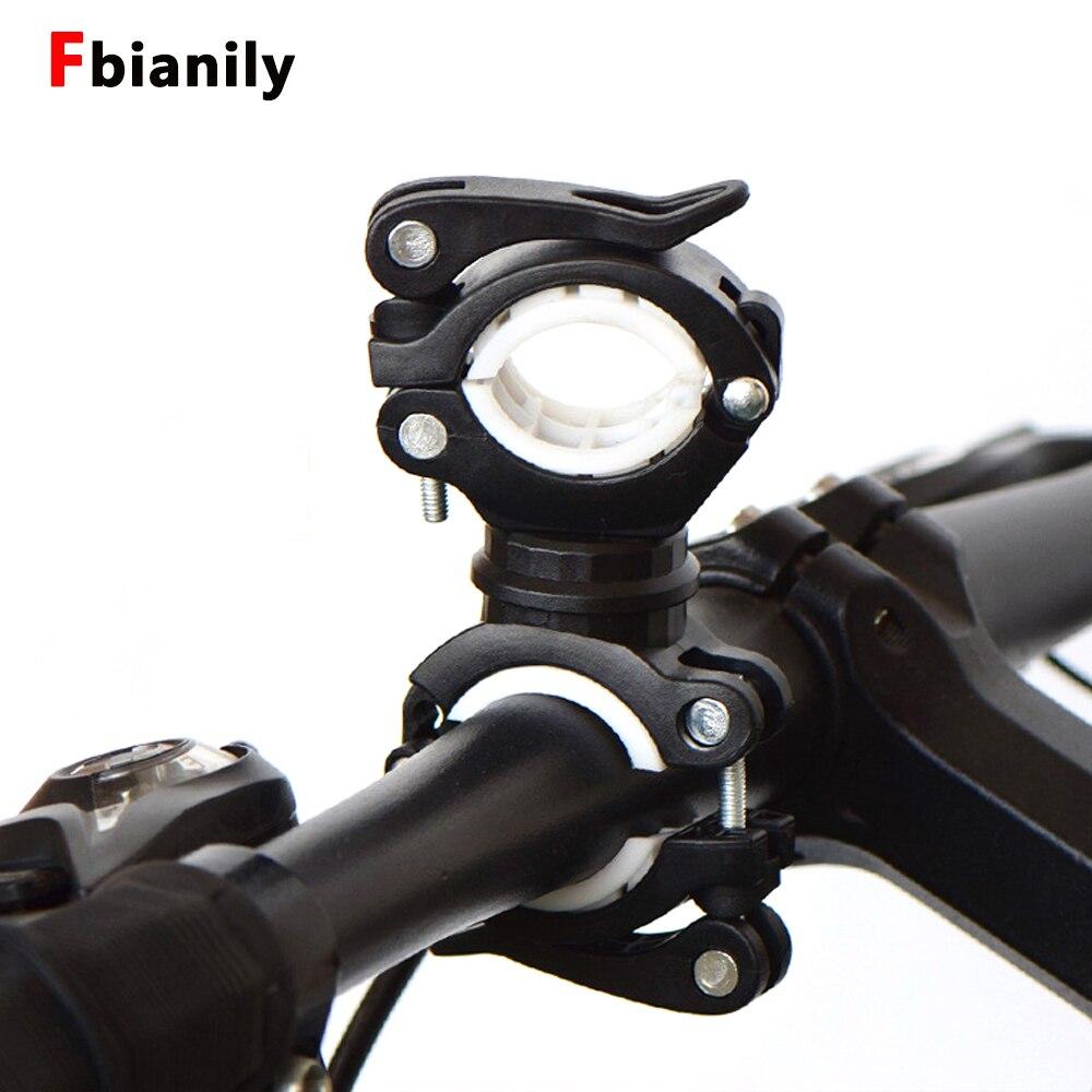 Вращающийся на 360 градусов кронштейн для велосипедного фонаря держатель для велосипедной лампы светодиодная подставка для насоса title=