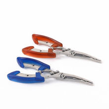 New Hot Stainless Steel Fishing Pliers Scissors Line Cutter Remove Hook Fishing Tackle Tool K8356