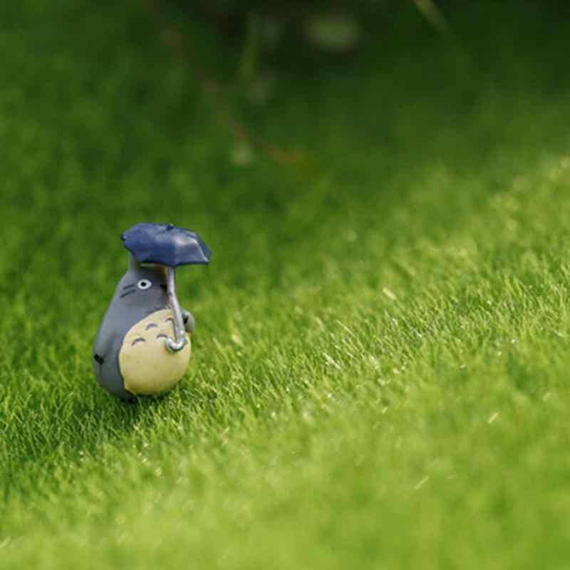 Terbaru Miniatur Taman Ornamen DIY Jamur Kerajinan Pot Fairy Buatan Rumput Rumput untuk Pernikahan Xmas Pesta Dekorasi