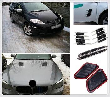 """Forma de coche funda decorativa pegatina de ventilación de simulación de salida de aire para Kia Forte Ceed qué significa """"Stonic"""" aguijón Rio Picanto Niro"""