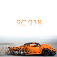 421pcs Super RC Blocks Car 918 Model Electric Motor Power Sports Cars fit legoings Technic Building Block Bricks DIY Toys Gifts