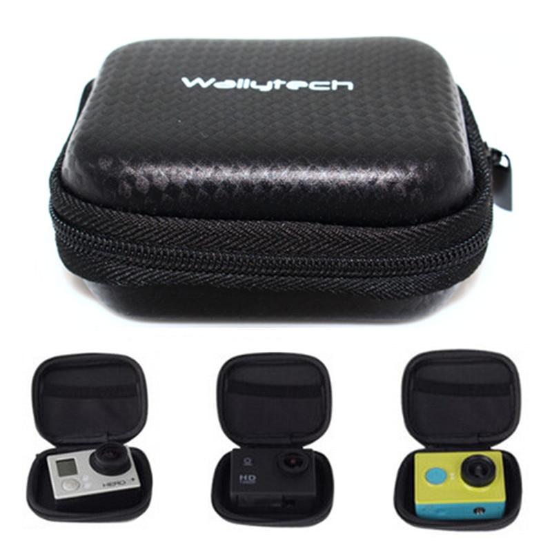 Ūdensnecaurlaidīga darbības kameru soma Gopro Hero 6 5 4 3 Sjcam aizsargājošai glabāšanai kaste kastei Go Xiaomi Yi 4k Eken aksesuāri