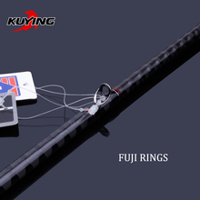 KUYING Conqueror 1.95m 1.98m 2m 2.05m Fast Action Carbon Lure Casting Fishing Rod Fish Pole BASS Master 1 Section Hard Soft