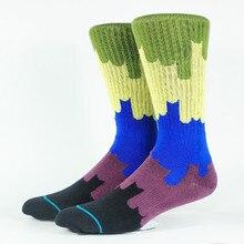 Мужские носки для скейтеров Wonderland, американский размер M(9-12), европейский размер 42-45