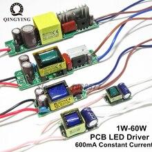 Fonte de alimentação, AC85 277V led driver 1 2x3w 2 4x3w 6 10x3w 10 18x3w pro 600ma 650ma transformadores de iluminação atual constante