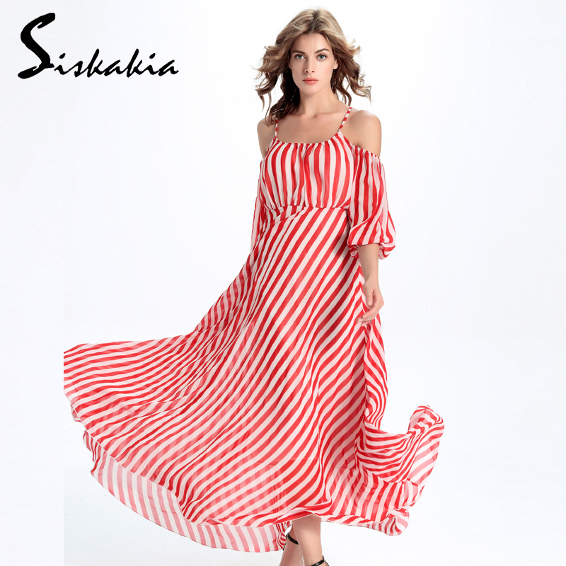 Popular Red White Striped Dress-Buy Cheap Red White Striped Dress ...