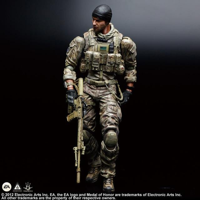 Фигурка Солдат по игре Medal of Honor 28 см ПВХ PlayArts 1