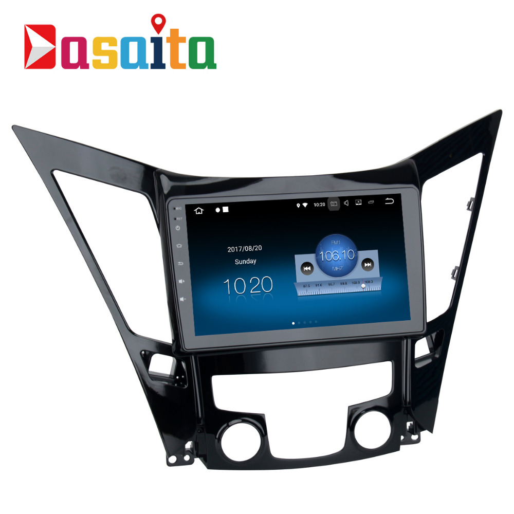 Dasaita Android 7.1 Car Radio GPS Navi for Hyundai Sonata /i40/i45/i50 2011 2012 2013 2014 with 2G+16G 9 Quad Core Car Video 21 6v 2200mah replacement battery for dyson li ion vacuum cleaner dc58 dc61 dc62 dc59