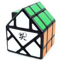 Da Yan Burmuda Triangular Green House Magic Cubes Puzzle Speed Cube Educational Toys Gifts for Kids Children