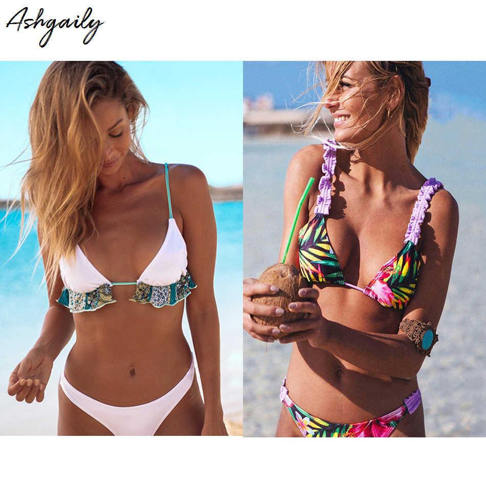 673530e033 ... Bikini 2018 Swimwear Women Brazilian Bikini Set Push Up Swimsuit Sexy  Thong Biquini Swim Wear Bathing ...