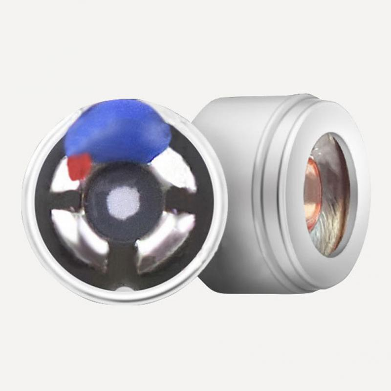 6mm Headphone Speaker Full Range Sound Headphone Speaker Moving Coil Horn Durable Wireless Bluetooth PET Clear And Pure