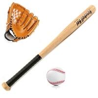 Healthy Sport Soft Baseball Bat Glove and Ball Set Baseball Practice Equipment Outdoor Softball Pitcher's Gloves