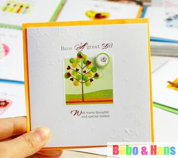 Aliexpress buy new creative paper cute cartoon designs aliexpress buy new creative paper cute cartoon designs greeting card fashion giftwholesale from reliable gift card of the month suppliers on bobo m4hsunfo