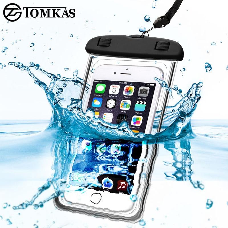 03bb7f0d9de Detalle Comentarios Preguntas sobre Funda impermeable universal para el  iPhone 5S 6 6 S 7 más Samsung xiaomi redmi 3 s nota 3 4 pro MI5 cubierta  impermeable ...