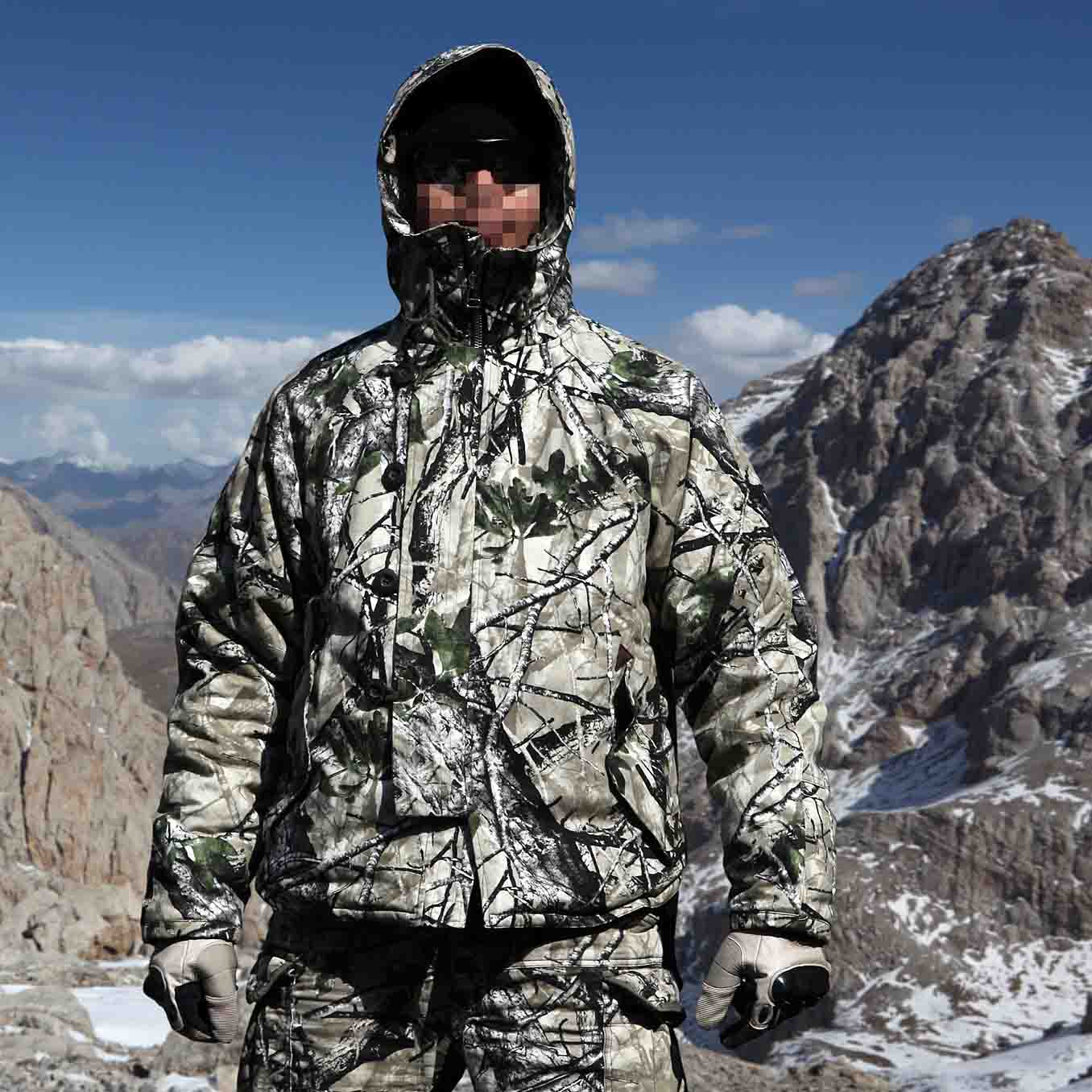 New Bionic Camouflage Winter Lighweight Field Coat with Liner Camo Parkas for Hunting and Outdoor рисуем сами 404 забавных рисунка