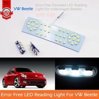 Free Shipping 3 Pcs Car LED Interior Reading Dome Map Light Error Free Glove Box Trunk