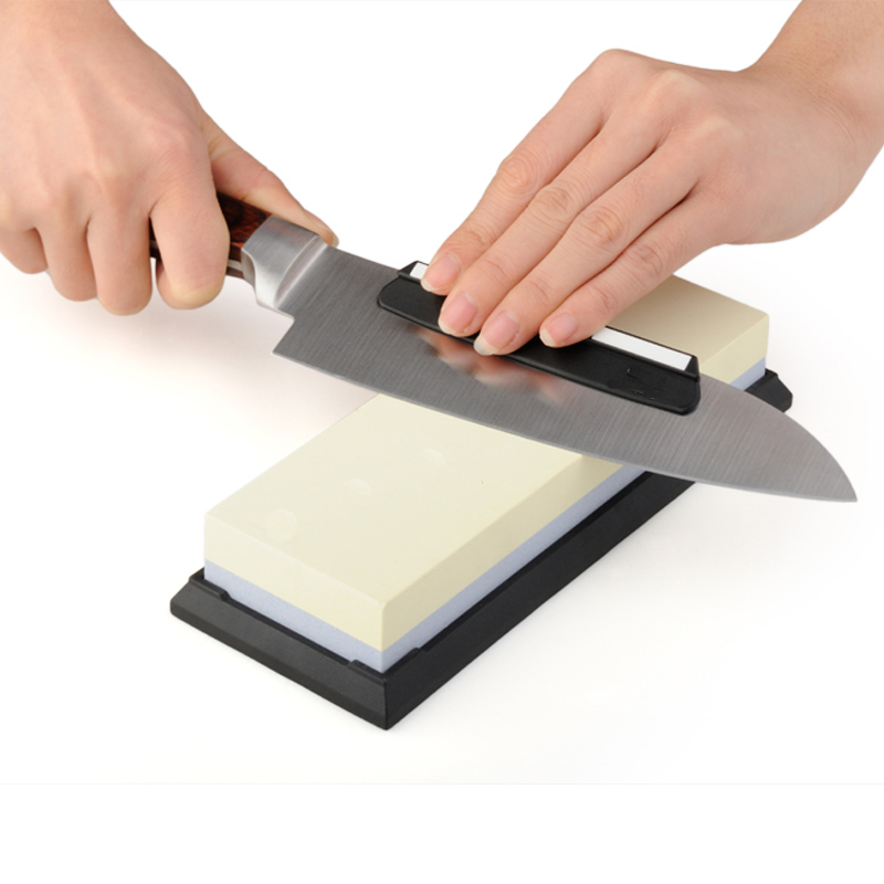 Whetstone Kitchen Knife Sharpener Grindstone Professional Japanese Sharpening Stone For All Knives White Corundum Waterstones