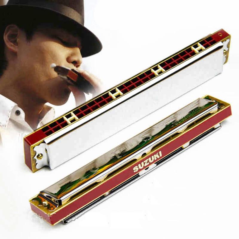 New Suzuki C Major Harmonica Study 24 Harmonica Tremolo 24 Harps Key of C A F