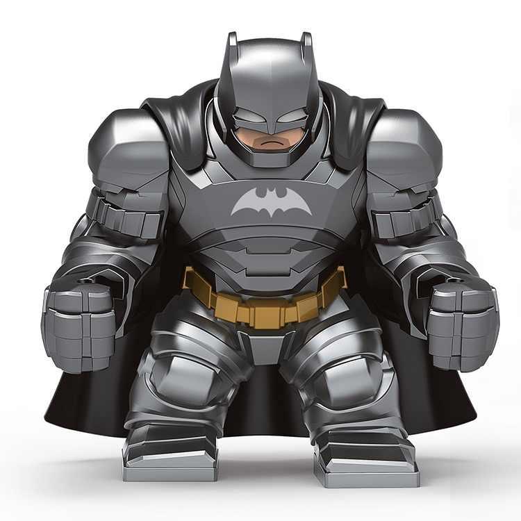 7cm blindado batman bane avengers hulk buster homem de ferro veneno verde goblin bloco de construção figura brinquedo compatível com lego