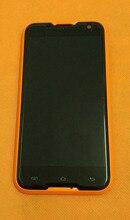 """شاشة الكريستال السائل الأصلي القديم + محول الأرقام بشاشة تعمل بلمس + الإطار ل Blackview BV5000 MTK6735 رباعية النواة 5.0 """"HD 1280x720 شحن مجاني"""