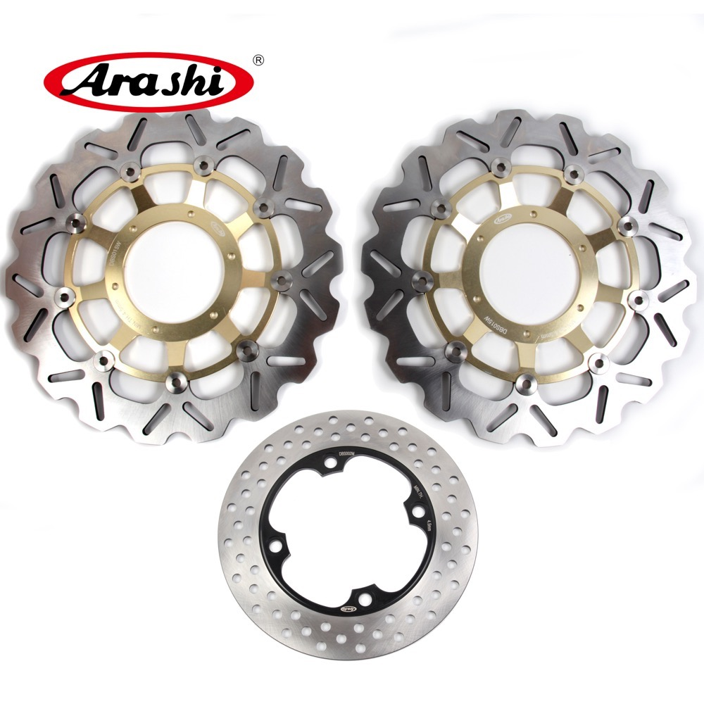 ARASHI For HONDA CBR1000RR 2004 2005 CBR 1000 RR Front Rear Brake Disc Rotors Motorcycle Accessories CBR 1000RR 2004 2005